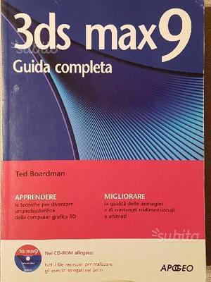 3D Studio Max9 guida completa con CD-ROM