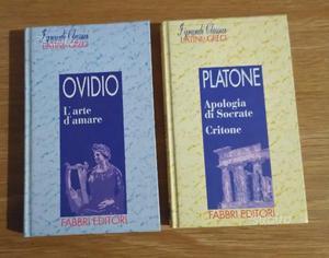 Classici Latini e Greci OVIDIO e PLATONE