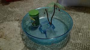 Gabbia per criceti e vesca per tartaruga