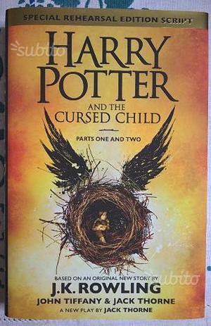 Harry Potter and the cursed child PRIMA EDIZIONE 1