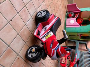 Moto Peg Perego Ducati usata pochissimo