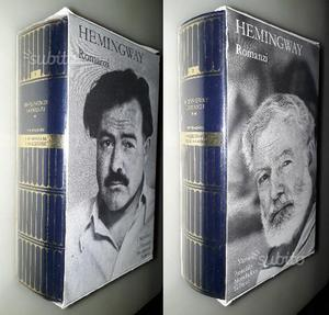 Romanzi, voll.1 e 2, Hemingway, I Meridiani Collez