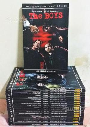 THE BOYS - COMPLETA DAL 1 al 19 - Garth Ennis 1°Ed
