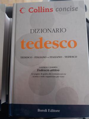 Vendo dizionario Inglese e Tedesco