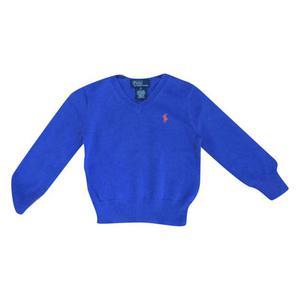 pull azzurro cotone anni 3