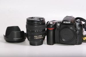 Fotocamera digitale reflex nikon d80 + nikon
