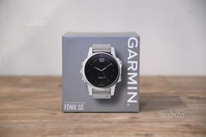 Garmin Fenix 5S Sapphire - Goldtone Leather