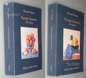 Il grande dizionario di cucina voll.1 e 2, Alexand