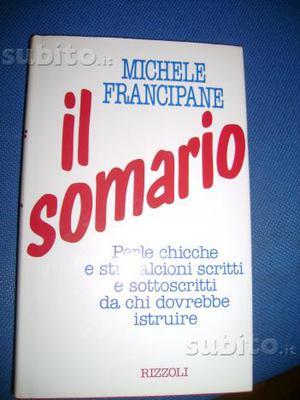 Il somario libro nuovo di michele francipane
