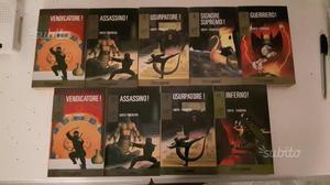 Librogame serie completa Ninja 9vol