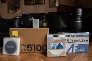 Nikon d + Tamron  + Filtri
