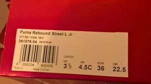 Scarpe da basket bambino/a Puma n. 36 quasi nuove