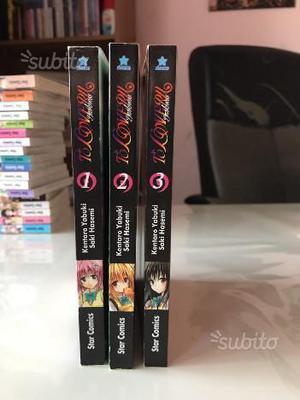 To Love Ru Darkness, volumi manga 1-2-3