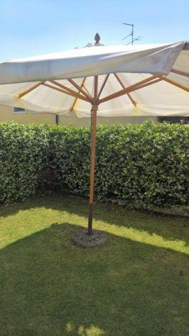 ombrellone in legno