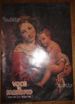 Lotto 6 numeri della rivista 'Voce di Padre Pio'
