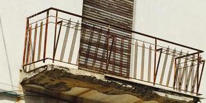 Ringhiera in ferro per balcone