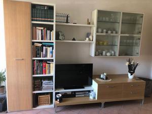 Mobile soggiorno in legno & vetro