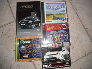 """Programmi cd auto pubblicità Fiat â€"""" Opel"""