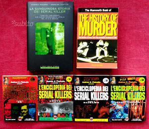 ENCICLOPEDIA DEI SERIAL KILLERS 2 volumi Crime