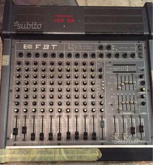 FBT Mixer Personal 252 DE + 2 Casse HF 15
