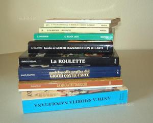 Libri su vari giochi di carte