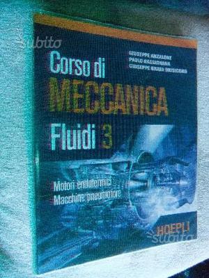 Meccanica fluidi 3 isbn