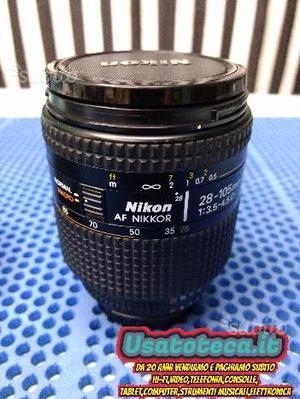 Nikon  mm F AFD Zoom Nikkor