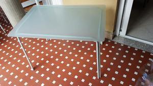 Tavolo vetro con 4 sedie