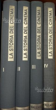 La storia del cinema Vallardi editore 4 volumi