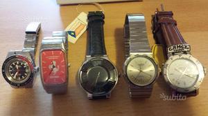 Lotto orologi vintage anni 70