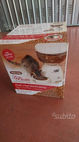 Distributore automatico cibo gatti 2,26 Kg