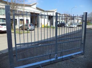 Cancello in ferro zincato di 302 x 160 USATO
