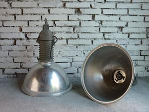 Lampade vintage anni 70 industriali  Posot Class