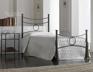 2 struttura in ferro battuto letto torino posot class for Struttura letto singolo