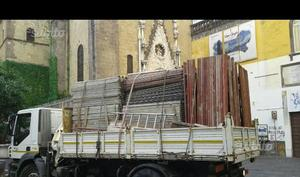 Tavole metalliche usate pianali da lavoro posot class - Tavole da muratore usate ...