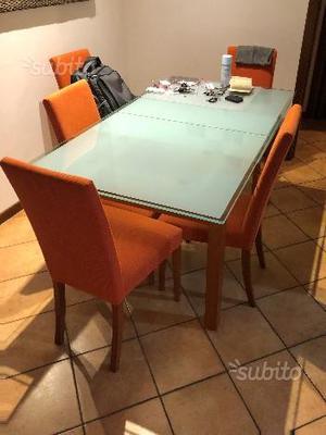 Tavolo 6 sedie