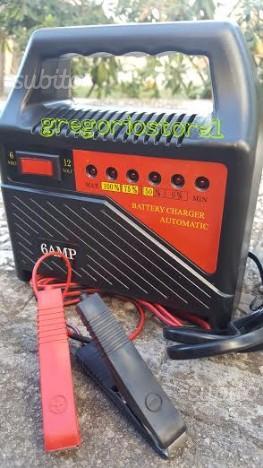 Carica batterie 12 6v x auto e moto