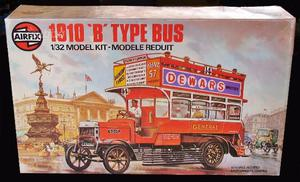 Airfix  'b' type bus 1:32