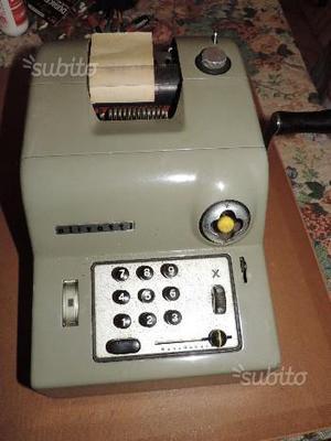 Calcolatrice OLIVETTI SUMMA 15 - Anni '50