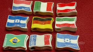 MULINO BIANCO gommine bandiere