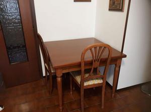 Tavolo del tongo allungabile con sedie   Posot Class