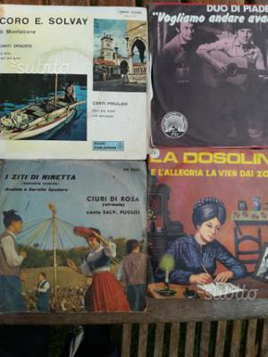 45 giri musica popolare italiana
