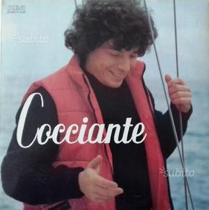 Cocciante, Vinile, 33 giri