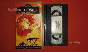 Il re leone in vhs