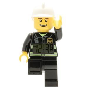 LEGO CITY Orologio Sveglia Pompiere in Plastica