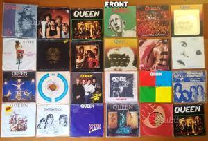 Lotto dischi 45 giri dei queen