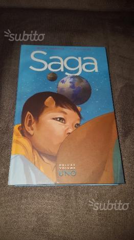 Saga - edizione deluxe - volume 1