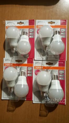 2 lampadine Led Osram 9,5w E lumen