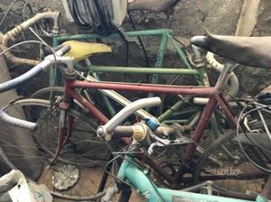 Benotto e Bianchi bici da corsa vintage
