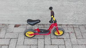 Bici bambini senza pedali
